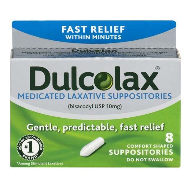 Picture of Dulcolax - Medicated Laxative Suppository