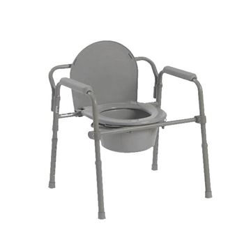 Picture of Bariatric Folding Commode Chair