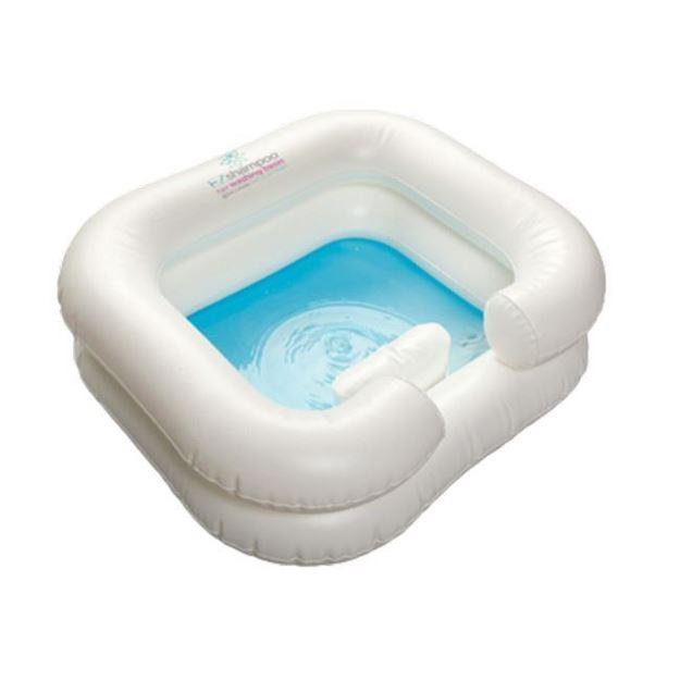 Picture of EZ-Access EZ-Bathe - Inflatable Shampoo Basin with Drain Hose