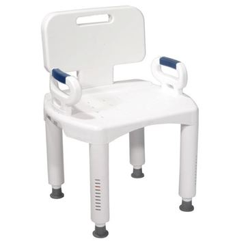 Picture of Drive Medical - Premium Series Shower Chair with Back and Arms