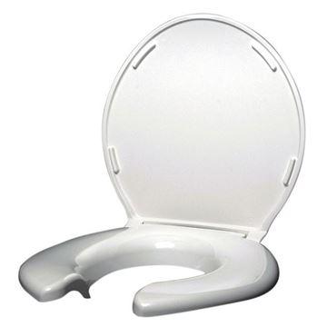 Picture of Big John - Open Front Heavy Duty Toilet Seat