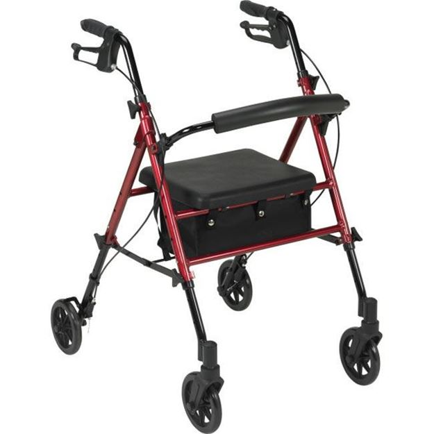 """Picture of Drive Medical - Rollator with 6"""" Casters"""