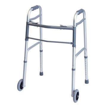 "Picture of Graham-Field Lumex - Dual Release Adult Walker with 5"" Wheels"