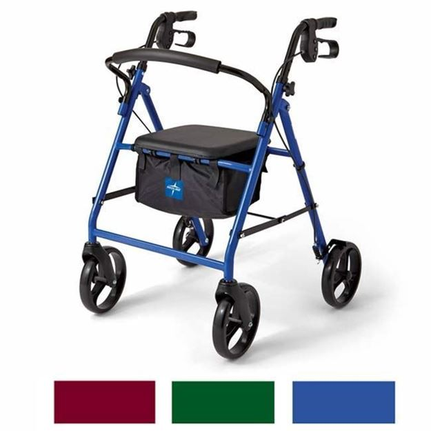 Picture of Medline Guardian - Basic Steel Rollator
