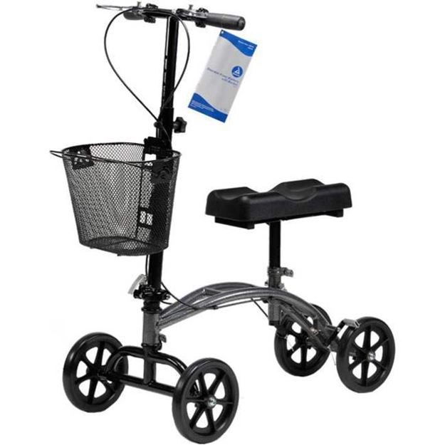 Picture of Dynarex -  Compact Steerable Knee Walker with Basket