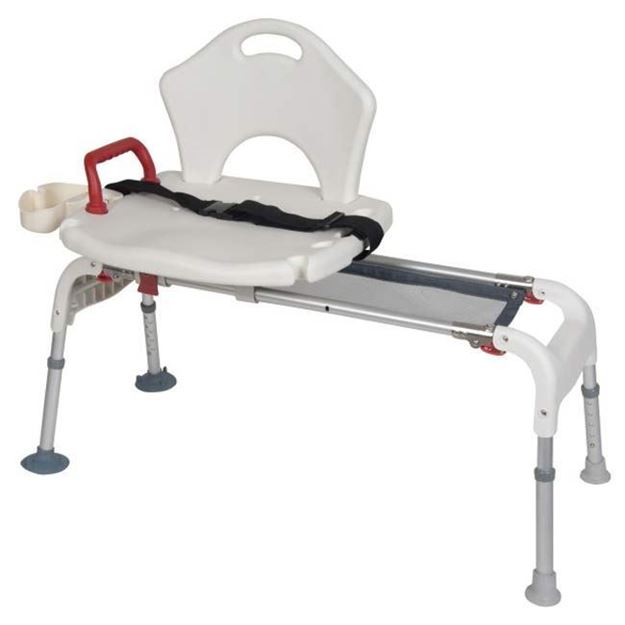 Picture of Drive Medical - Folding Universal Sliding Transfer Bench