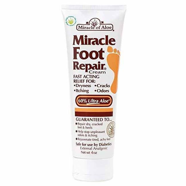 Picture of Miracle of Aloe Foot Repair - Moisturizing Cream for Dry Cracked Feet