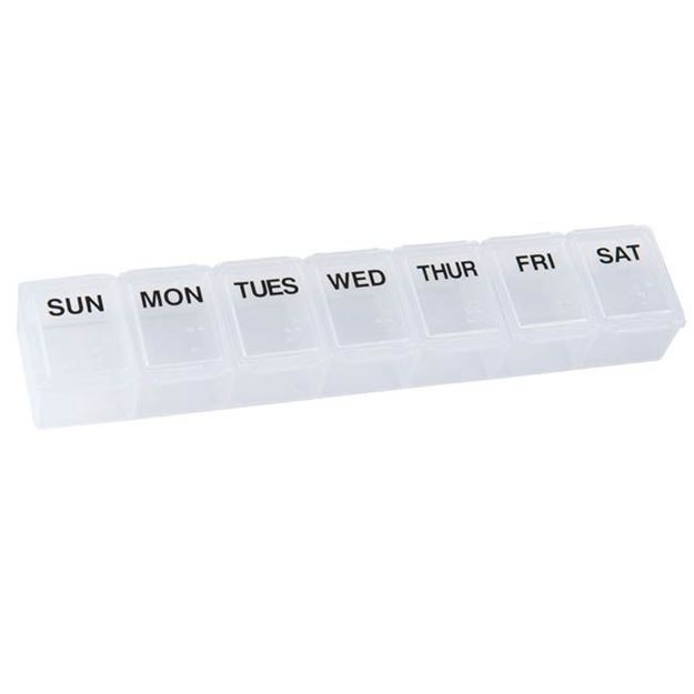 Picture of HealthSmart - 7 Day Pill Organizer