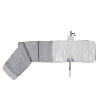 Picture of Coloplast Conveen Active - Fabric Covered Urinary Drainage Leg Bag (Hide Away Tap)