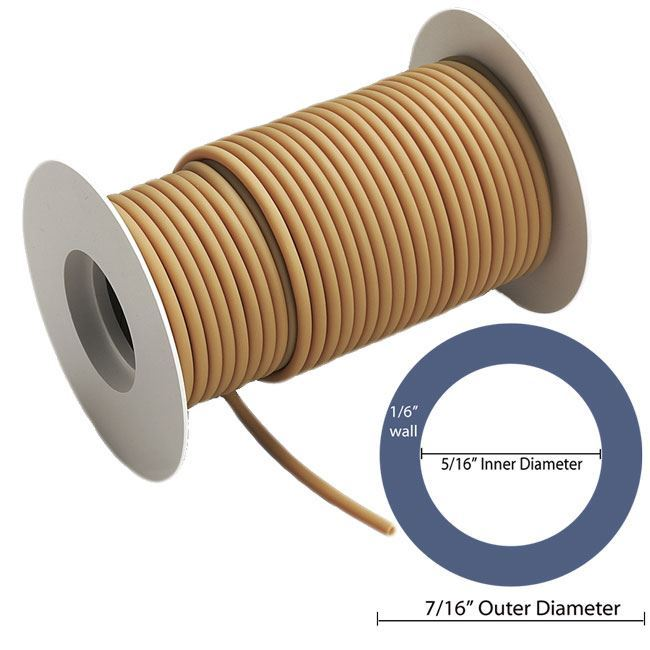 """Picture of 5/16"""" ID with 7/16"""" OD - 50 ft Roll"""