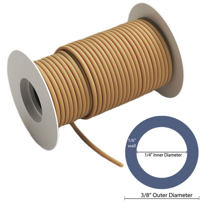 """Picture of 1/4"""" ID with 3/8"""" OD - 50 ft Roll"""