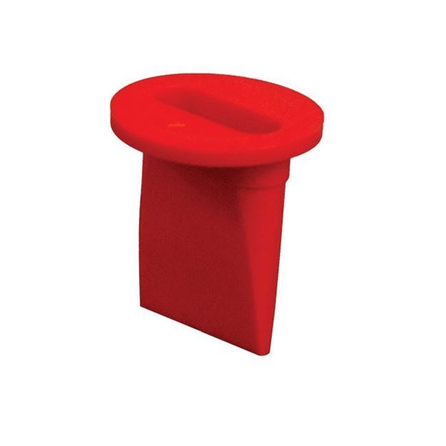 """Picture of Urocare - """"Little Red Anti-Reflux Valve"""" for Reusable Leg Bags"""