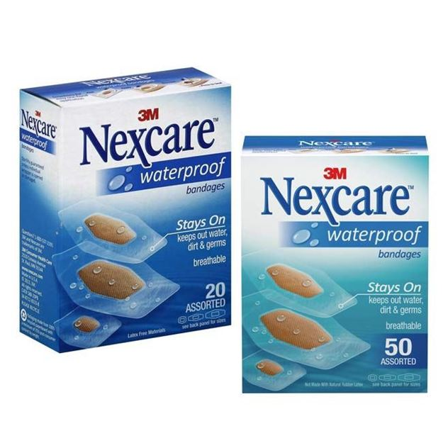Picture of 3M Nexcare - Assorted Waterproof Bandages