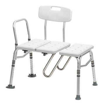 Picture of Drive Splash Defense - Transfer Bench with Curtain Guard Protection