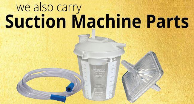 Shop Suction Machine Parts