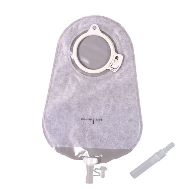 "Picture of Coloplast Assura - 10 3/4"" 2-Piece Maxi Urostomy Bag"