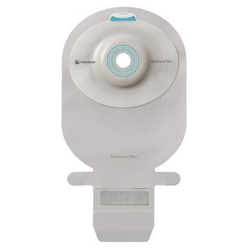 Picture of Coloplast SenSura Mio - Drainable 1-Piece Convex Light  Ostomy Bag with Filter (Easi-Close - Pre-cut - Maxi)