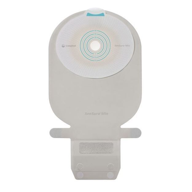 Picture of Coloplast SenSura Mio - Transparent Drainable 1-Piece Cut to Fit Ostomy Bag