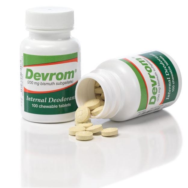 Picture of Parthenon Devrom - Chewable Tablet Odor Eliminator