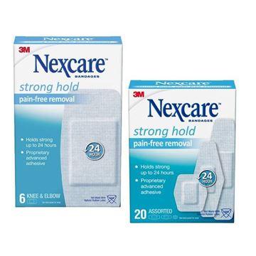 Picture of 3M Nexcare Strong Hold Pain - Free Removal Bandages