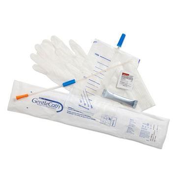 "Picture of ConvaTec GentleCath Tiemann - 16"" Hydrophilic Coude Catheter Kit"