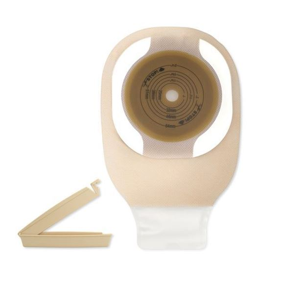 "Picture of Hollister Premier - 9"" 1-Piece Drainable Ostomy Bag (Flextend - Cut to Fit - Mini)"