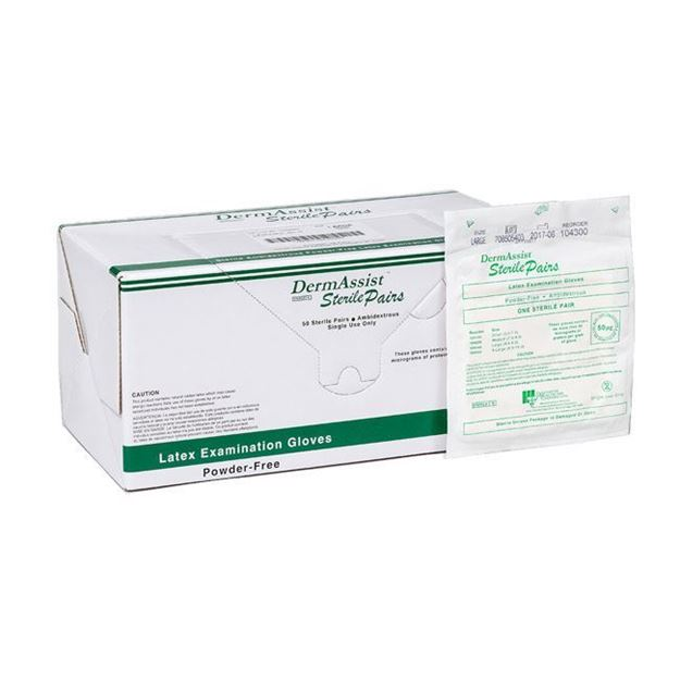 Picture of Innovative DermAssist - Sterile Latex Exam Gloves