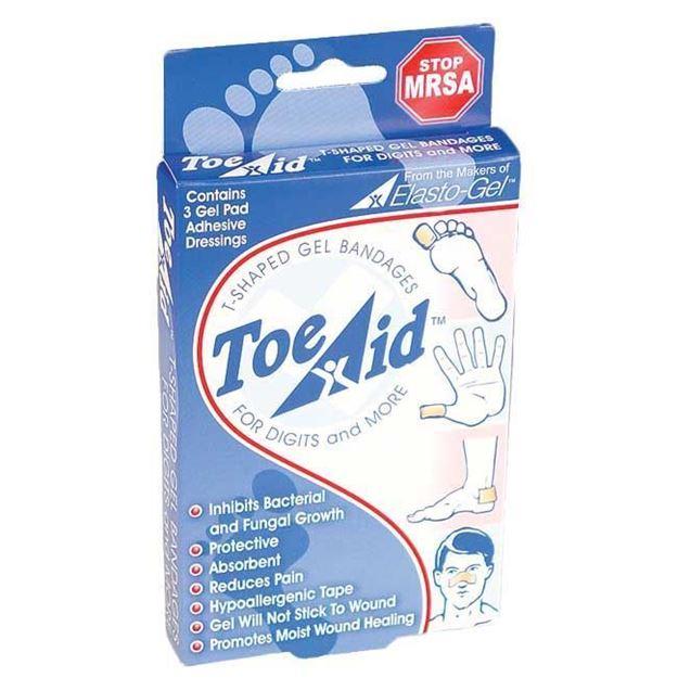 Picture of SouthWest Medical - Elasto-Gel Toe-Aid Dressing