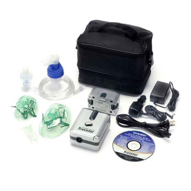 Picture of DeVilbiss Traveler - Portable Compressor/Nebulizer System