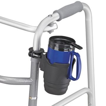 Picture of HealthSmart - Universal Beverage Holder with Wheelchair Attachment