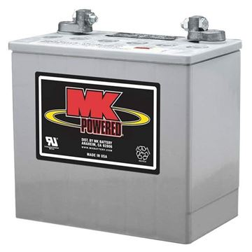 Picture of MK M22NF SLDG - Sealed Gel Power Chair Battery (G Terminal)