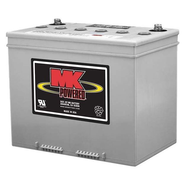 Picture of MK M24 SLDGFT - Sealed Gel Power Chair Battery (C Terminal)
