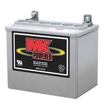 Picture of MK MU-1 SLDG - Sealed Gel Power Chair Battery (Y Terminal)