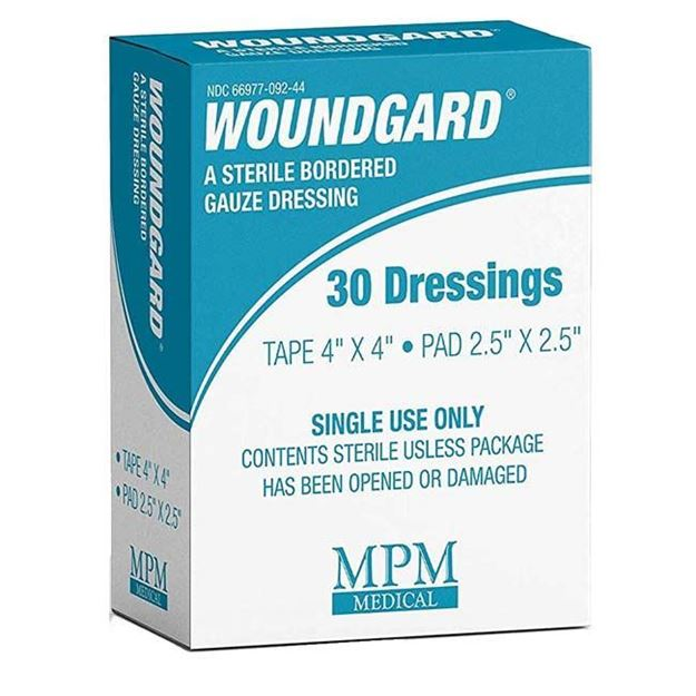 Picture of MPM Medical WoundGard - Sterile Bordered Gauze Dressing