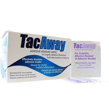 Picture of TacAway - Adhesive Remover Wipes