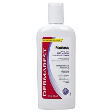Picture of Dermarest Psoriasis Max Strength Medicated Shampoo and Conditioner