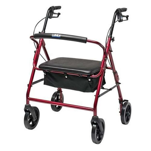 Picture of Graham-Field Lumex Walkabout Contour Imperial Bariatric Rollator