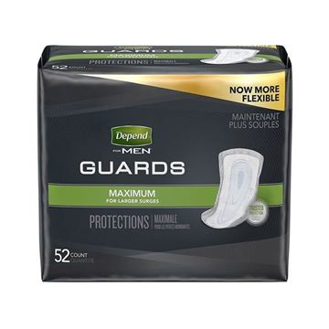Picture of Depend Guards for Men - Incontinence Pads