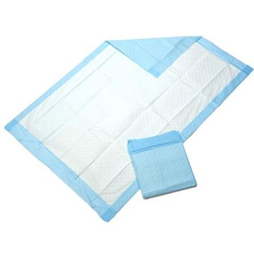 Picture of Medline Protection Plus - Disposable Standard Fluff-Filled Bed Pads