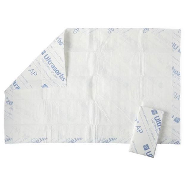 Picture of Medline Ultrasorbs - Air Permeable Disposable Underpads