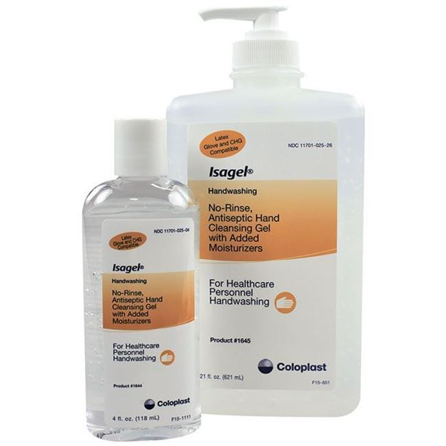 Picture of Coloplast Isagel - No-Rinse Hand Sanitizing Gel