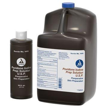 Picture of Dynarex - Povidone-Iodine (PVI) Prep Solution