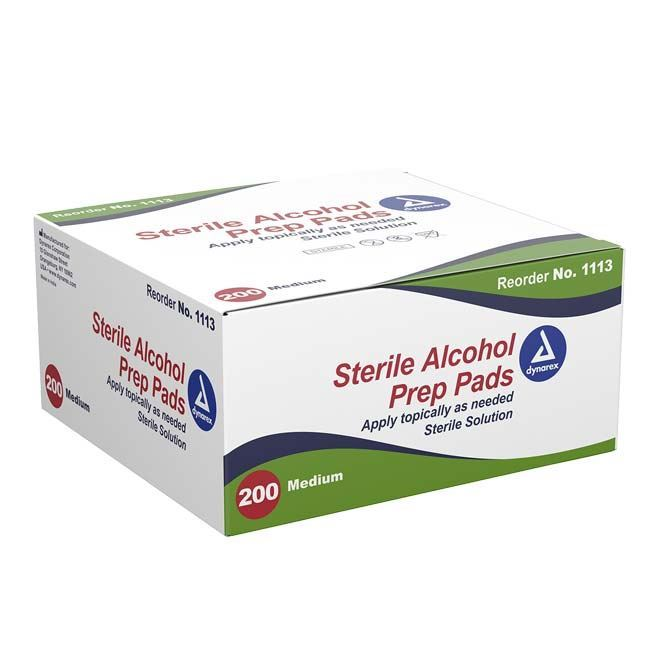 Picture of MED Pads - Box of 200
