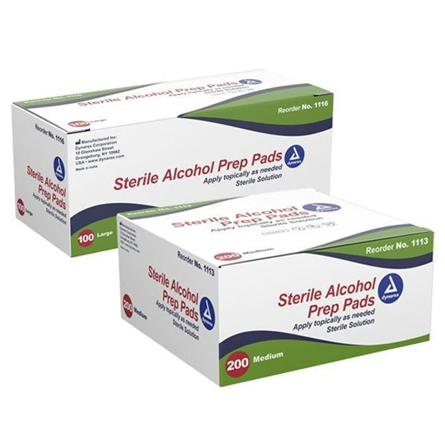 Picture of Dynarex - Alcohol Prep Pads