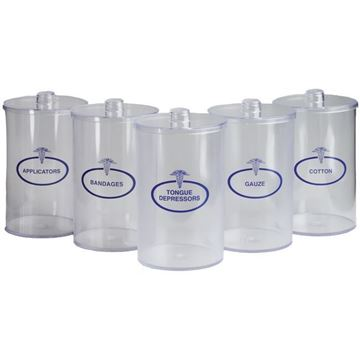 Picture of Tech Med - Labeled Plastic Sundry Jar Set
