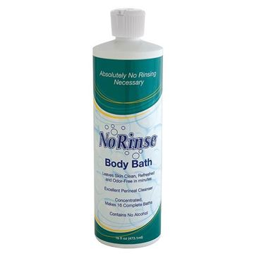 Picture of No Rinse Laboratories - Concentrated Body Bath Skin Cleanser