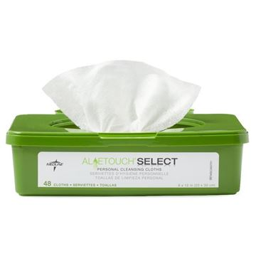 Picture of Medline Aloetouch Select - Personal Cleansing Wipes