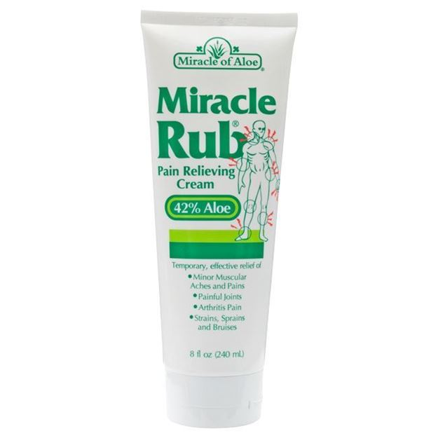 Picture of Miracle of Aloe  - Miracle Rub Pain Relieving Cream