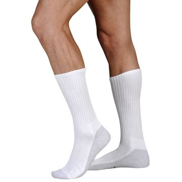 Picture of Juzo OTC Silver Sole - Crew 12-16mmHg Compression Support Sock