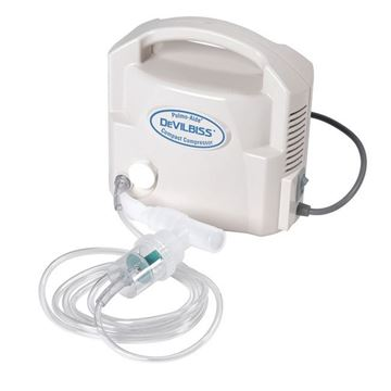 Picture of DeVilbiss Pulmo-Aide - Compact Portable Compressor/Nebulizer
